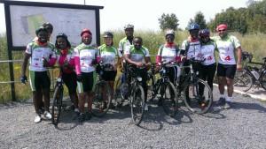 Praktische Unterstützung kam auch aus unserer Region. So stellte die Neusser Radstation zwölf ghanaischen Teilnehmern Tourenräder zu einem güngstigen Mietpreis zur Verfügung, womit diesen der teure Transport von Rädern aus ihrer Heimat erspart blieb.