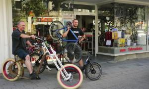 Ob Cruiser, Singlespeed oder Lastenrad - Tomis Räder sind etwas für Individualisten