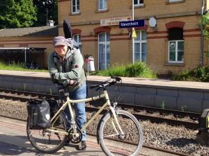 Mit leichtem Gepäck auf Reise - erstmal ein Stück mit der Bahn