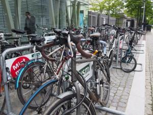 Die Anreise mit dem guten Fahrrad war für viele Teilnehmer Ehrensache