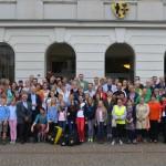 Zahlreiche Teilnehmerinnen und Teilnehmer der Aktion Stadtradeln folgten am 28. August der Einladung zur Siegerehrung im Krefelder Rathaus