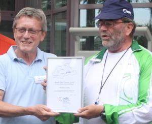 Norbert Vloet und Hartmut Genz (ADFC)