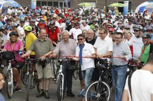NRW Radtour - Start Plettenberg