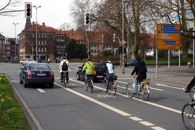 Indirekt Direkt Diagonal Egal Rad Am Niederrheinrad Am Niederrhein