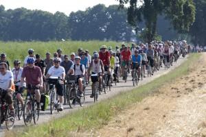 NRW-Radtour 2015, 1.Etappe von Dinslaken nach Haltern