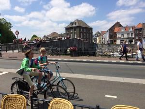 Niederländische Fahrradkultur