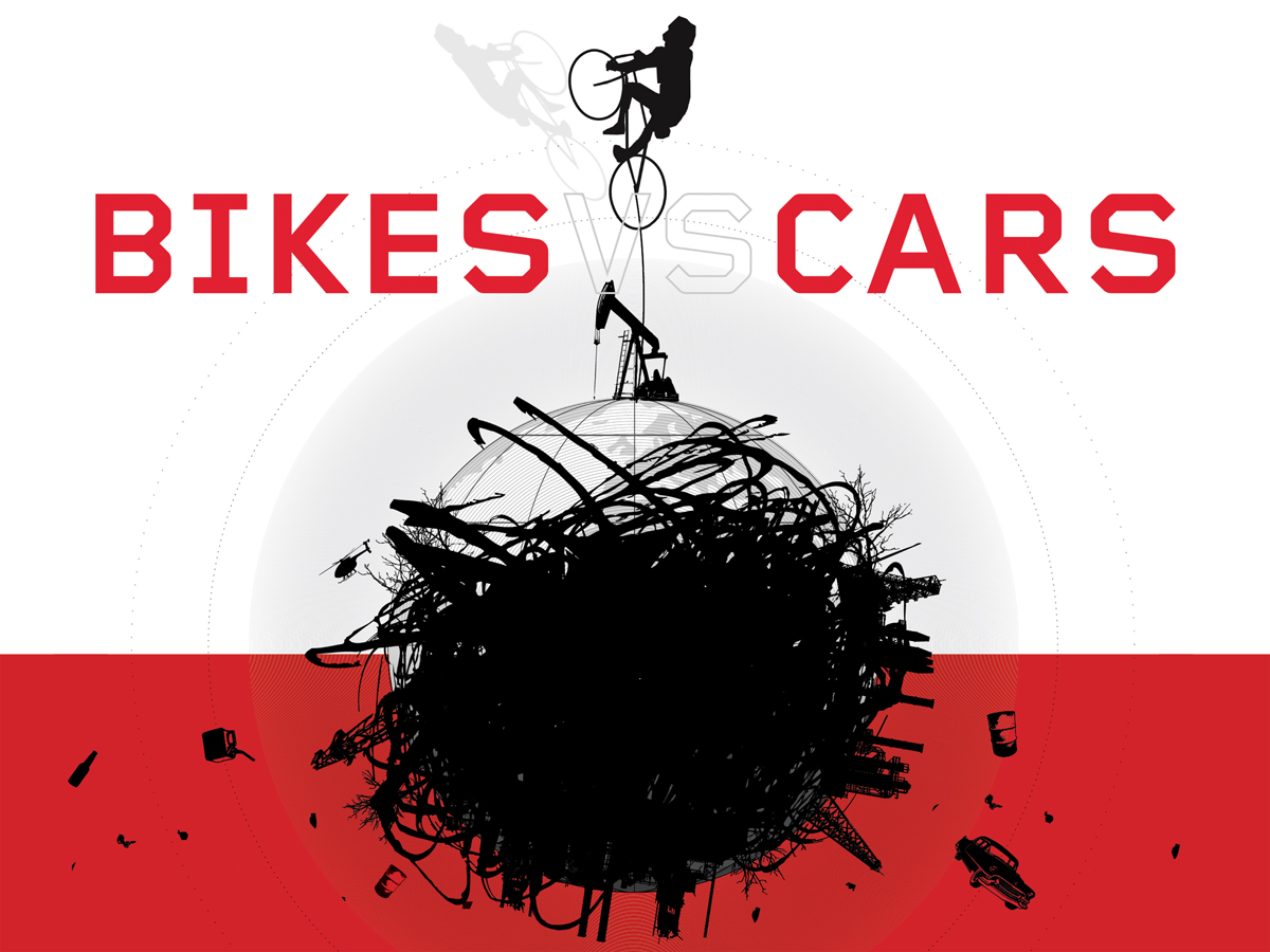 Bikes vs. Cars hat beim Environmental Film Festival in Turin den Preis als beste internationale Dokumentation bekommen.