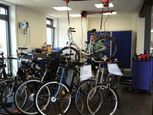Die neue Fahrradstation in Geldern
